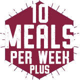 10 Meals Per Week PLUS FLEX $2,720.00