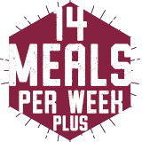 14 Meals Per Week PLUS FLEX